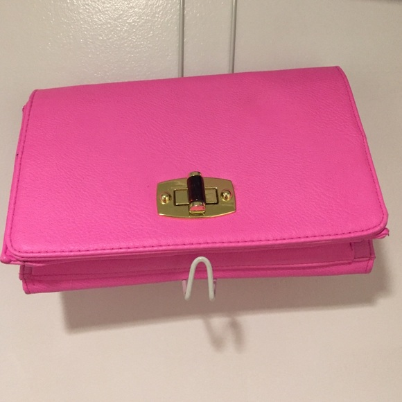 66% off Merona Handbags - Neon pink handbag from Erin's closet on ...