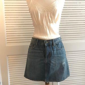 GAP Short Denim Skirt, Size 6