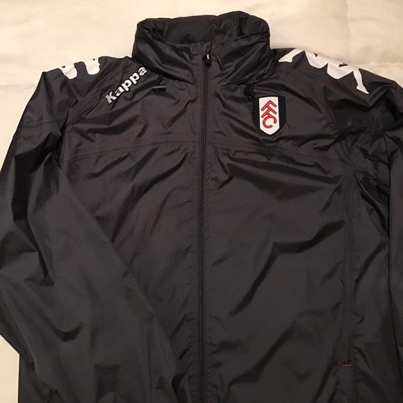 4e8f7e109 Kappa Jackets & Coats | Fulham Fc Rain Jacket Xxl | Poshmark