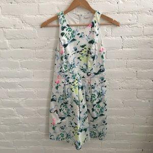GAP 'Sara Dress' White Floral