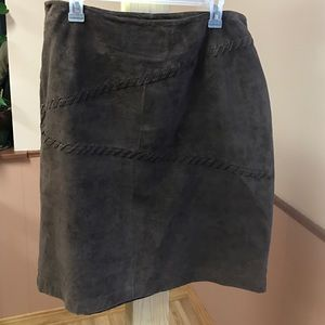 Sonoma Dresses & Skirts - Like New Suede Skirt