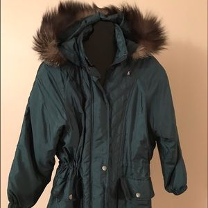 Women's London Fog Fur Jacket on Poshmark