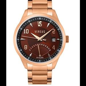 Versus By Versace Other - Versus Men's Dial Rose Gold Stainless Steel WATCH