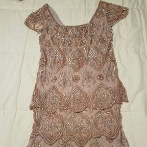 Pisarro Nights Dresses & Skirts - Gorgeous Pisarro Nights Beaded Dress - NWOT