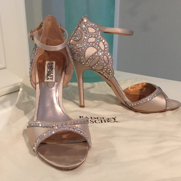 909ec6ab937 Badgley Mischka Shoes - Badgley Mischka Roxy Ankle Strap Evening Shoe