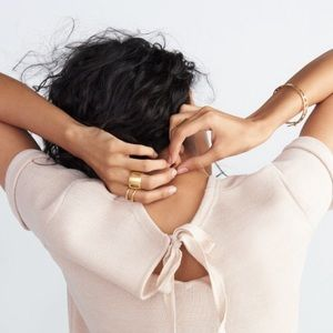 Madewell Jewelry - sale | madewell • moonspring cutout ring