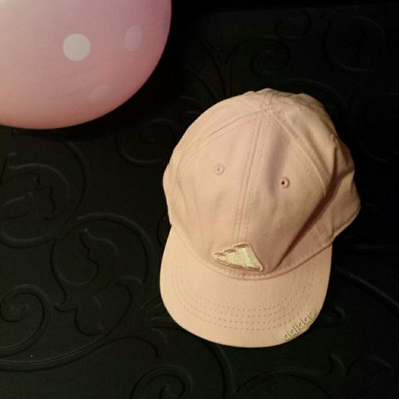 EUC Toddler Pink Adidas Hat 8854b926fe74