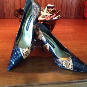 Beverly Feldman Shoes - Beverly Feldman Animal Print Pumps