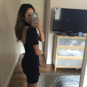American Apparel Fitted Dress
