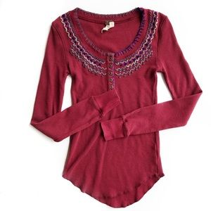 Free People Tops - Free people Henly top