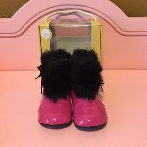 Robeez Other - Hot Pink Rain Boots