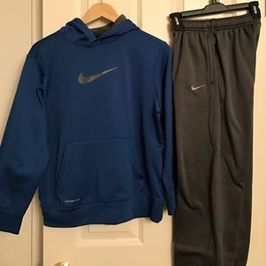 Nike Other - Nike Therma-fit Sweatshirt/Pants/Dri-fit Shirt