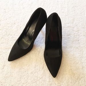 Charlotte Russe Shoes - Black Charlotte Russe 4 inches heels, size 7