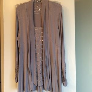 INC International Concepts Tops - Pullover dress top with sparkle!
