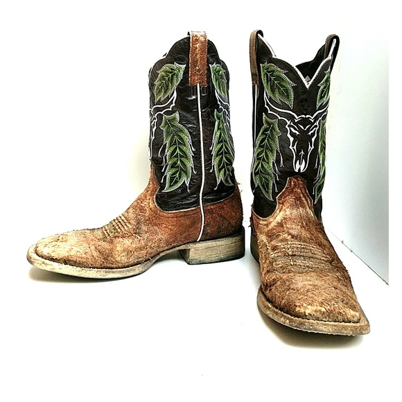 82% off Ariat Other - Ariat outlaw Western cowboy boots from ...