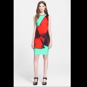 Clover Canyon Dresses & Skirts - Clover Canyon 'Folded Floral' Print Sheath Dress