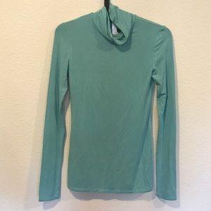 BCBGMaxAzria Sweaters - BCBG MaxAzria soft turquoise turtleneck