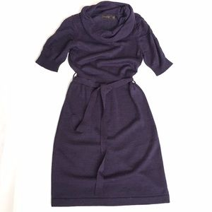 The Limited Dresses & Skirts - The Limited Violet Belted Sweater Dress
