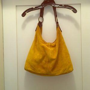 Italian made Suede Handbag