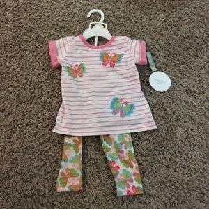 Absorba Other - Absorba toddler girl shirt and leggings set
