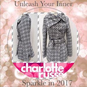 Charlotte Russe Jackets & Blazers - ✨LIKE NEW✨ Warm winter white peacoat jacket