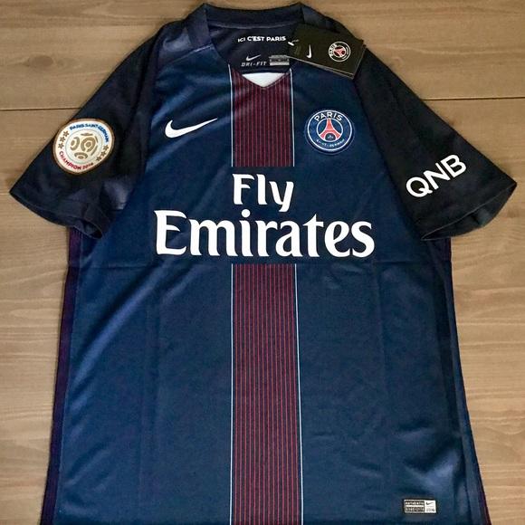 887475f8390 Nike Shirts | New Psg Paris Saint Germain Jersey Men Soccer | Poshmark