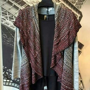 Katherine Barclay Tops - Shawl collar sweater cardigan jacket