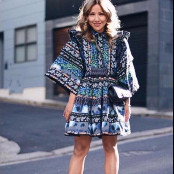 f5496880767e kenzo Dresses | Nwt X Hm Patterned Dress | Poshmark