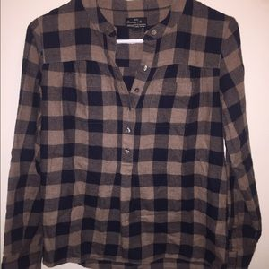 80 off madewell tops madewell wrap front shirt for Super soft flannel shirts