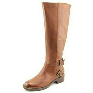 Kenneth Cole Reaction Shoes - 🆕Kenneth Cole Cognac Leather Riding Boots