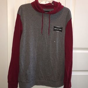 Brixton Other - Brixton Ramsey long sleeve lightweight hoodie knit