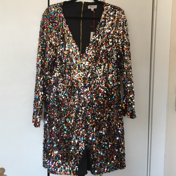 0bb8a0c9e59 Charlene Limited Edition Sequin Romper size 1x
