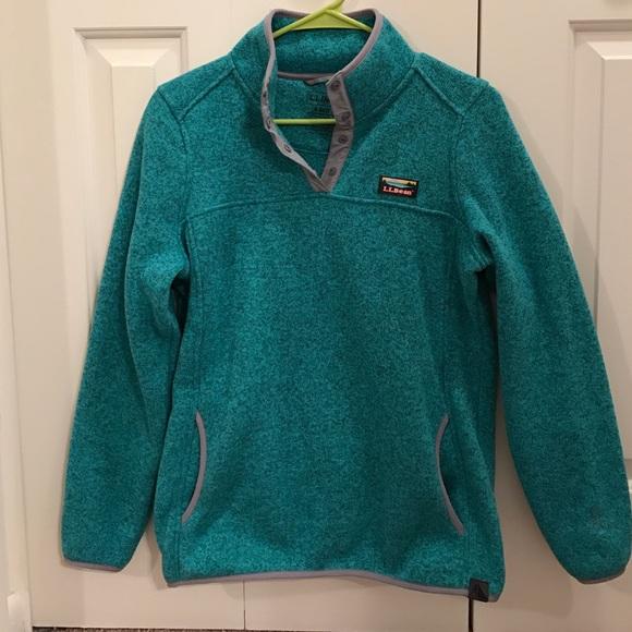 47fe143d51bdd L.L. Bean Tops | Ll Bean Sweater Fleece Pullover | Poshmark