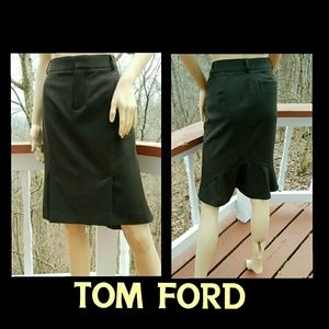 Tom Ford Dresses & Skirts - 💥FLASH SALE💥TOM FORD Fabulous Wool Blend Skirt
