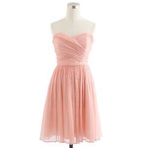 J. Crew Dresses & Skirts - J CREW Arabelle dress silk chiffon pink sz 12
