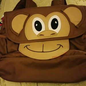Bixbee Other - Adorable Monkey Backpack