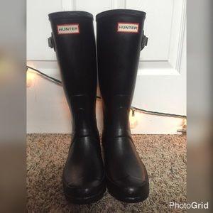 Original Tall Black Hunter Boots