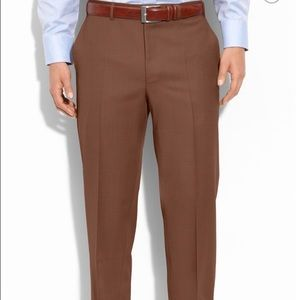 Canali Other - Men's Canali Flat Front Wool Trousers