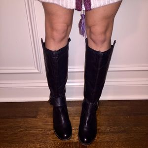 Steve Madden Removable Buckle Riding Boots