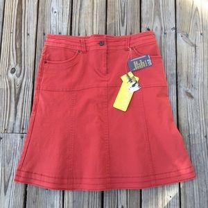 Lole Dresses & Skirts - NWT Orange Denim Lole  Skirt