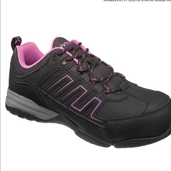 b25842f80c7da8 WOMEN COMPOSITE TOE steel toe safety shoe