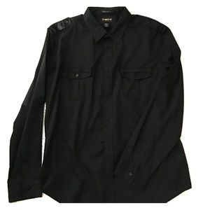 helix Other - Helix black sexy button down worn once! XL