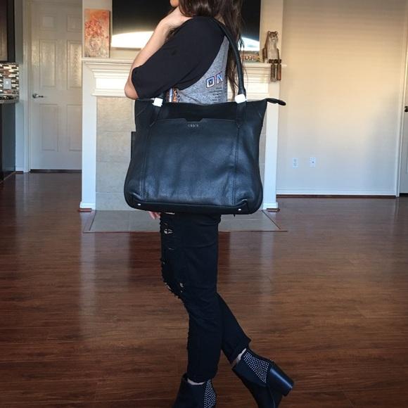 12dca010b Lodis Bags | Bnwt In Original Box Black Leather Tote | Poshmark