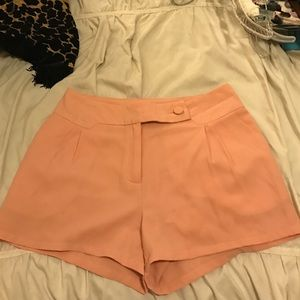 Peach shorts size small