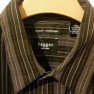 Haggar Other - ***HAGGAR.*** MENS NEW MICROFIBER SHIRT