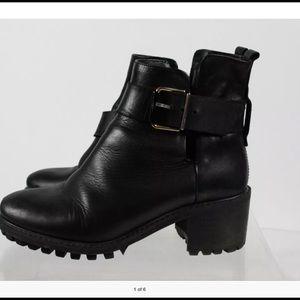 Miista Shoes - Very cute Miista leather boots.