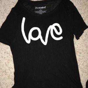 Stranded Tops - Love shirt!