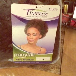 timeless Other - Afro hair piece/Medium #4