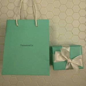 Tiffany & Co. Other - Tiffany&Co gift wrapped bar soap, box & bag