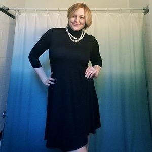 Pastels Clothing Dresses & Skirts - SALE! Black Mock neck tunic/dress